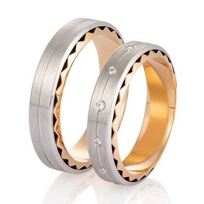 Обручальные кольца 018-1 Цена 18 600 грн