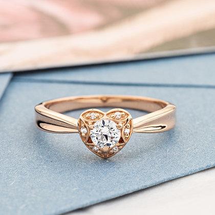 Помолвочное кольцо 605 Цена 5600 грн