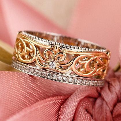 Обручальное кольцо 029-1 Цена 10 400 грн
