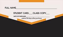 Kizomba PHoenix 10 Class Punch Card2 SMA