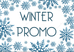 Winter Promotion and Business Launch - Low Rates for New Clients