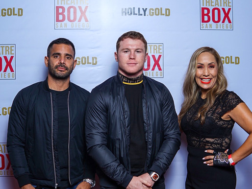 Boxing Champ Canelo Alvarez Hosts Friends at SugarFactory in San Diego