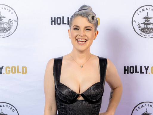 Kelly Osbourne Celebrates 36th Birthday with HollyGold