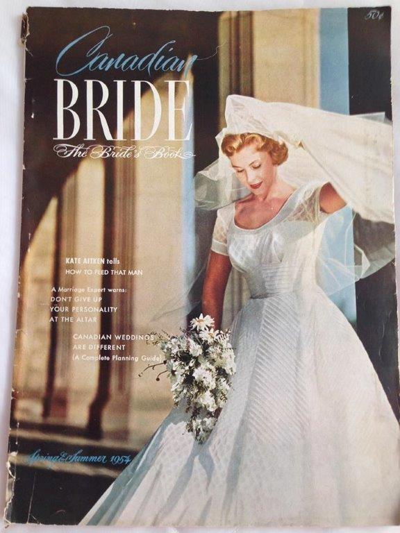 Copy of 1954 Canadian Bride Magazine