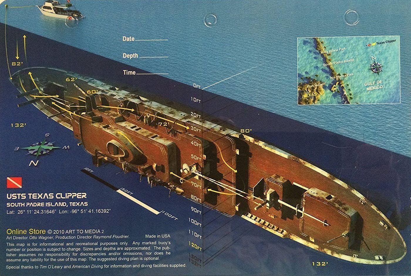 clipper map 1