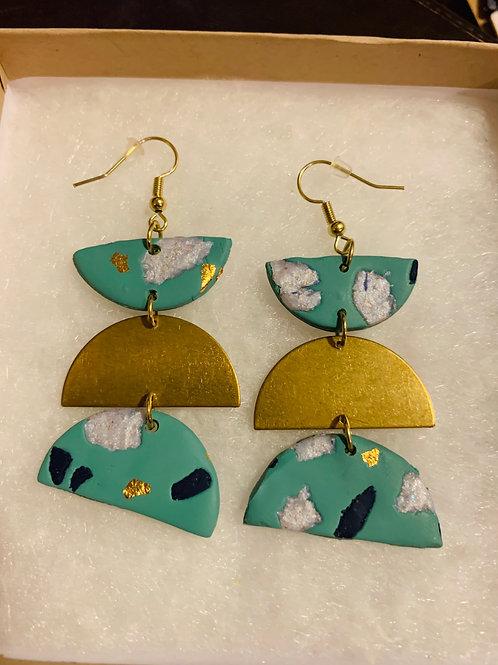 Tri Whimsy Earrings