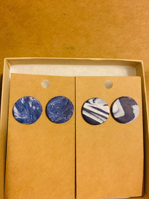 Moonlit Night Earrings