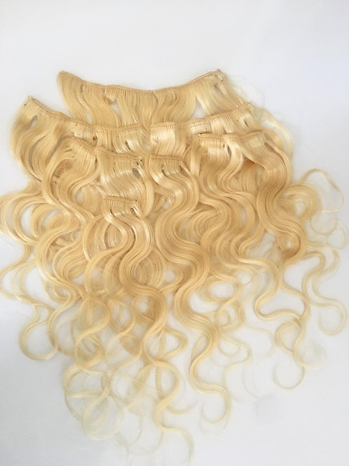 European Clip In Hair Extension #613
