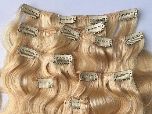 European Clip In Hair Extension #22