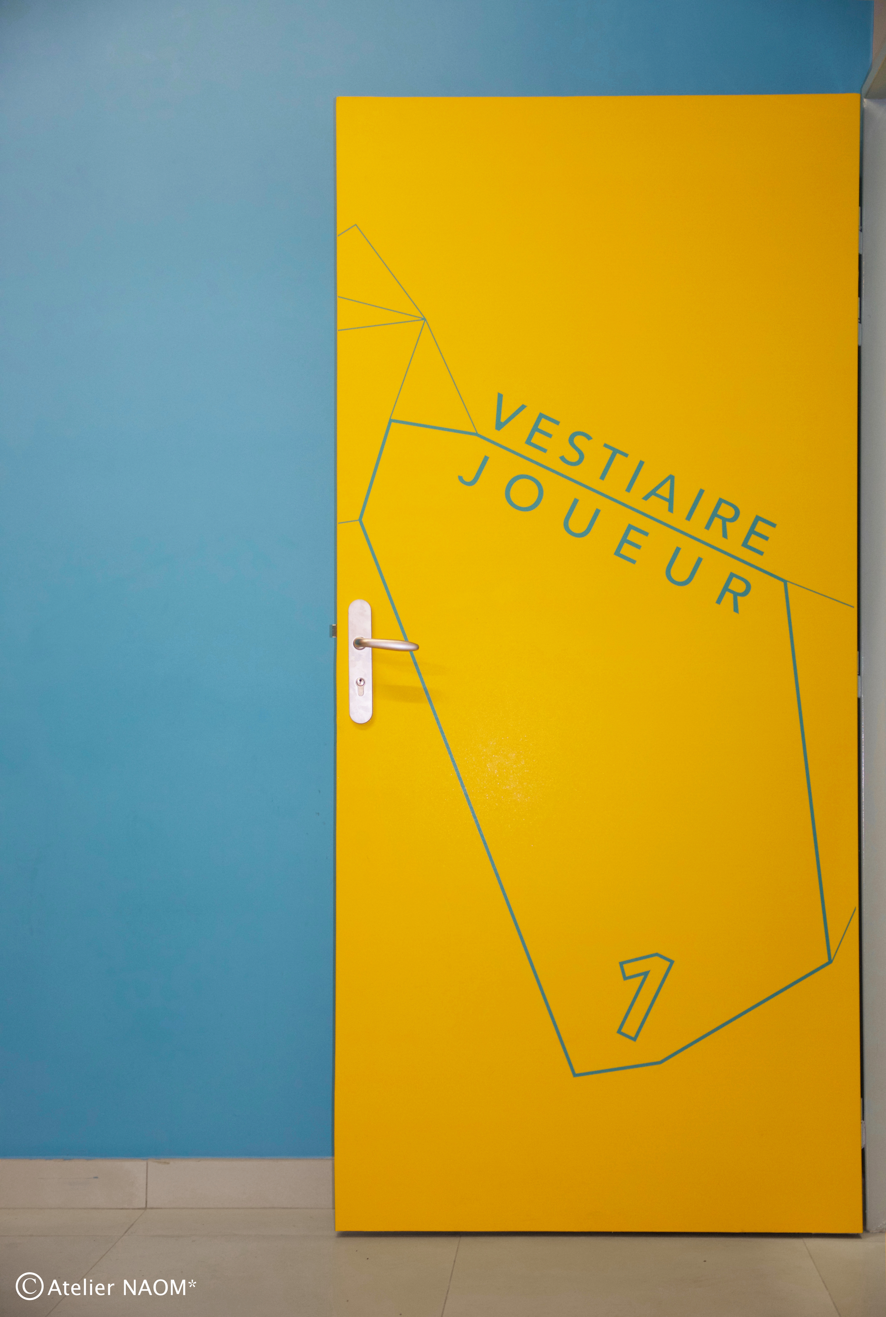 Signalétique/ Vestiaires Stade