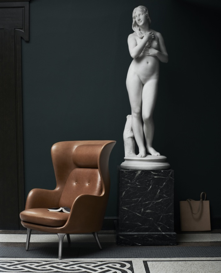 Fauteuil Ro : Cuir