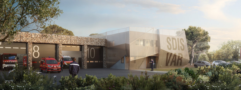NAOM réalisera le nouveau Centre de Secours de Grimaud