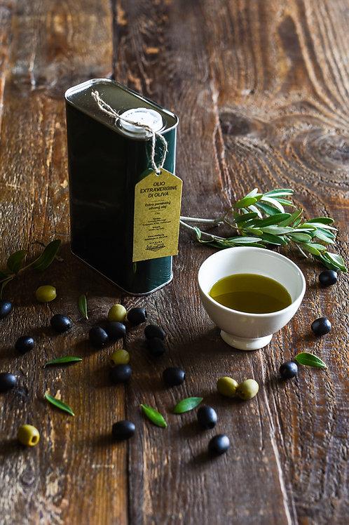 Olivový olej 1litr, balení v plechovce
