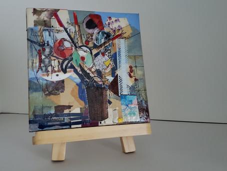 Creating a Floral Collage - Concord Arts Association, June 27, 2020 1p PT
