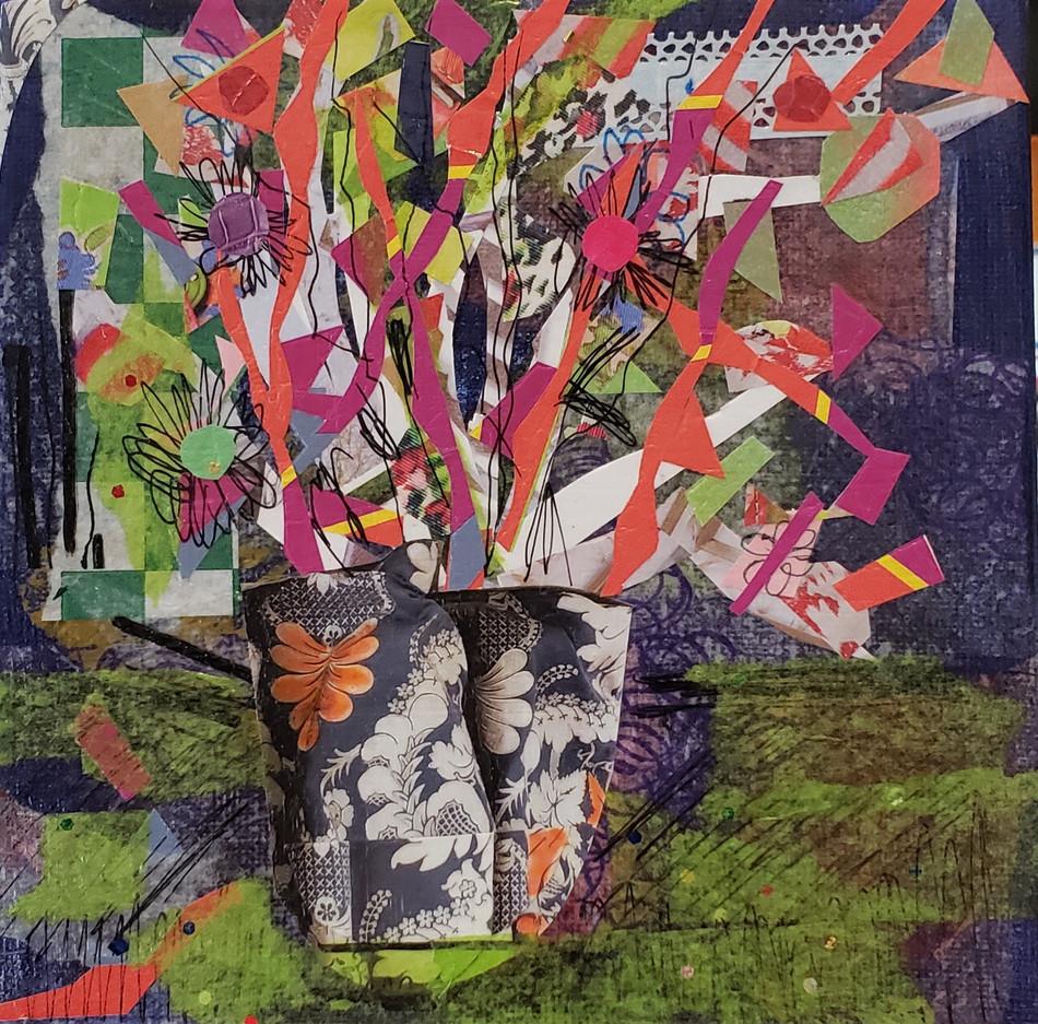 Floral Vase Nine