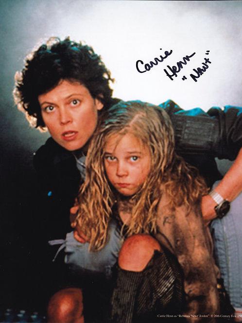 Carrie Henn Autograph