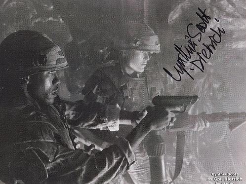 Cynthia Scott Autograph