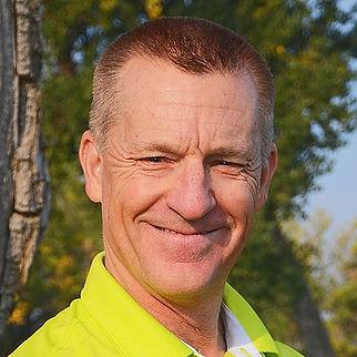 Geoff Greig close up