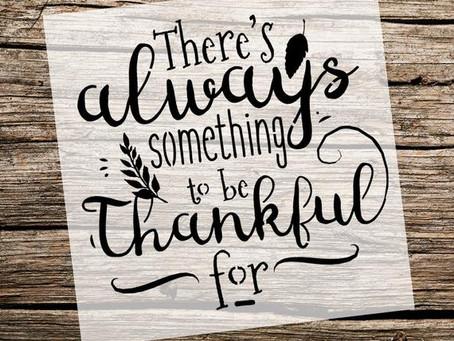 A Season of Thankfulness