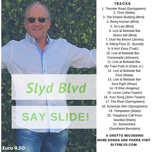 CD (SAY SLIDE!) by Slyd Blvd
