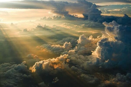 Heavens burst forth