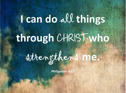 // Christ Who Gives Me Strength //