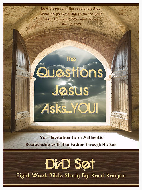 The Questions Jesus Asks You! DVD Set