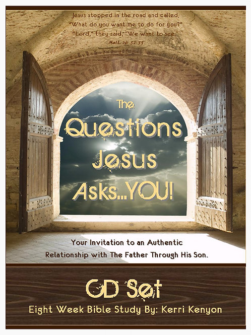 The Questions Jesus Asks You! Cd Set