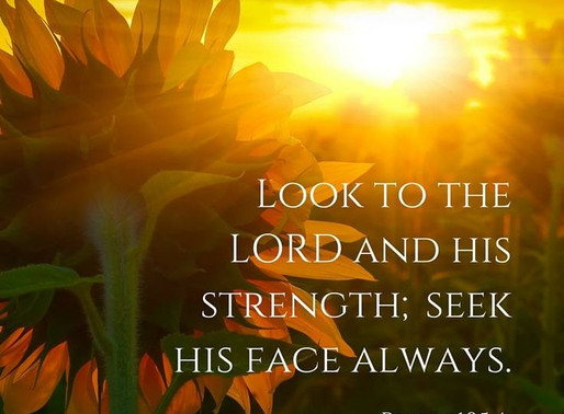 Look To The Lord..