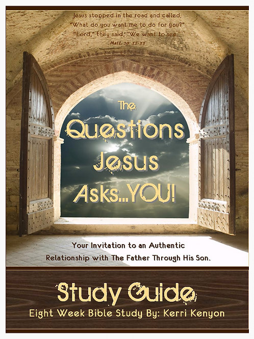 The Questions Jesus Asks You Companion Study Guide