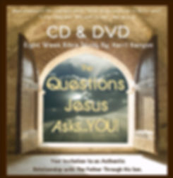 The Questions Jesus Asks You Cd and Dvd Set with Kerri Kenyon