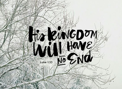 His Kingdom Will Never End! // Join Kerri in January!