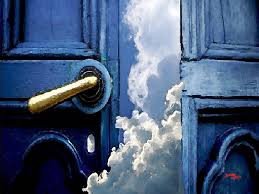"""Look! I stand at the door and knock. If you hear my voice and open the door, I will come in..."