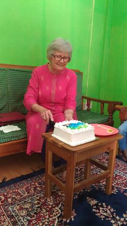Mom's 77th birthday party