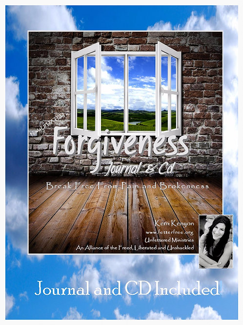 Forgiveness Journal and Cd
