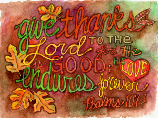 Give Thanks!