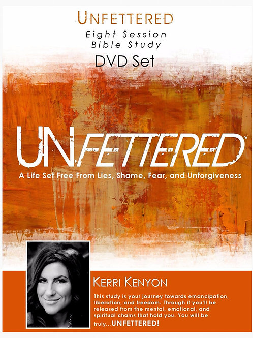 Unfettered The Bible Study DVD