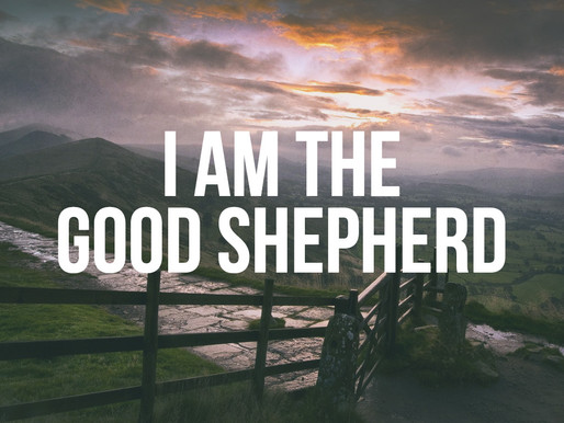 // I Am The Good Shepherd // Couples Retreat is Here!
