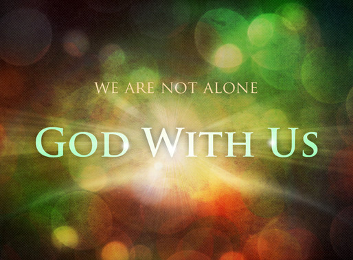 God is with us...Join us in Jan. at REIGN!