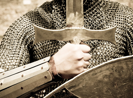 Put on all of God's armor so that you will be able to stand firm...