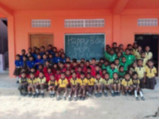 Grace English School Students
