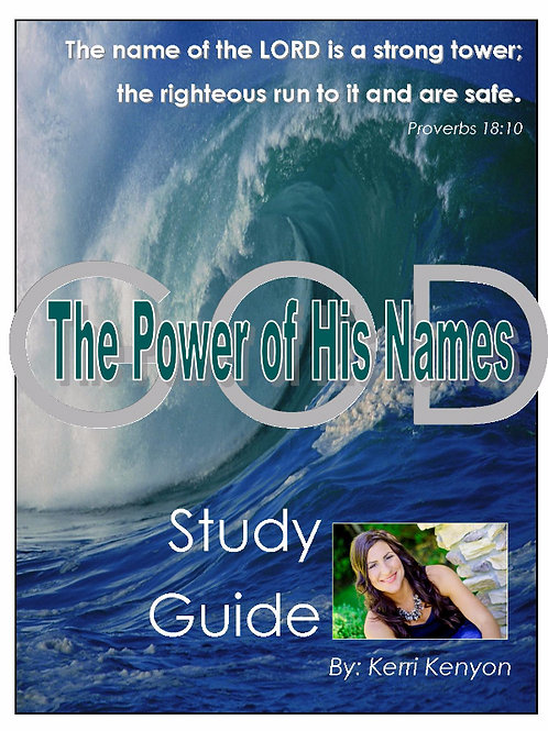 The Power of His Names Companion Study Guide