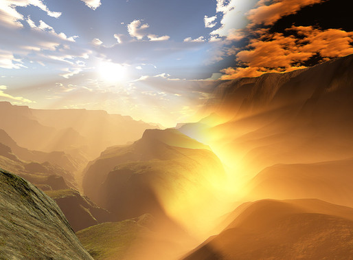 The way of the righteous is like the first gleam of dawn