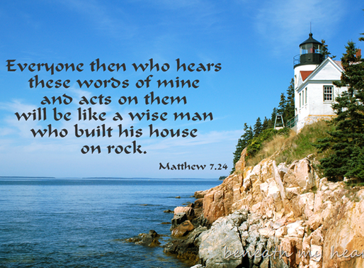 House on Solid Rock...Join ALIVE Bible Study with Kerri!