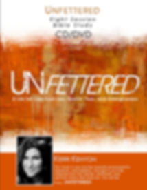 Unfettered Bibles Study Cd and Dvd set with Kerri Kenyon