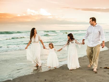 Cocoa Beach Family Session