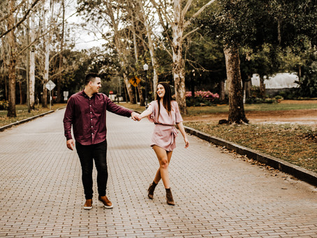 Mead Gardens Engagement