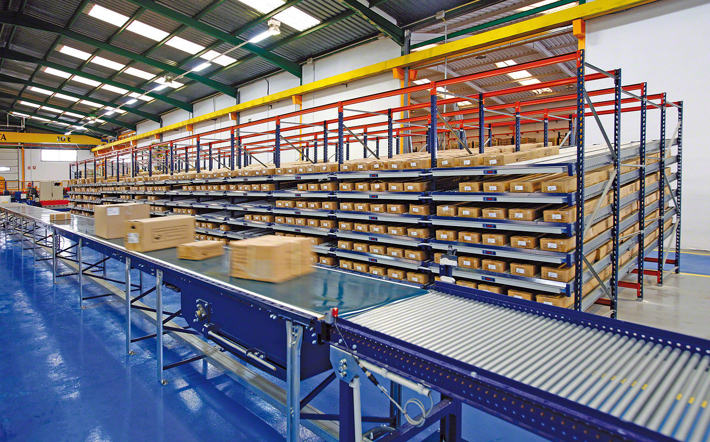 PVC Conveyor Belt used within Logistics Industry | R&D Supply Conveyor Belts
