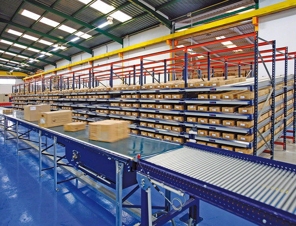 PVC Conveyor Belt used within Logistics Industry | R&D Supply Conveyor Belts