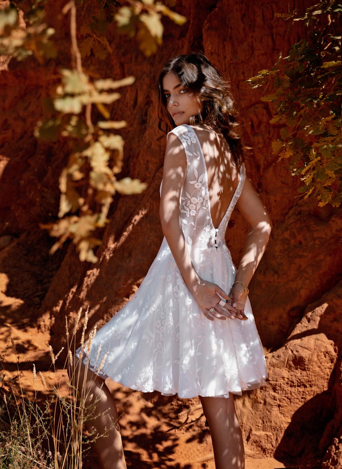 robe de mariée Fabienne Alagama Nîmes